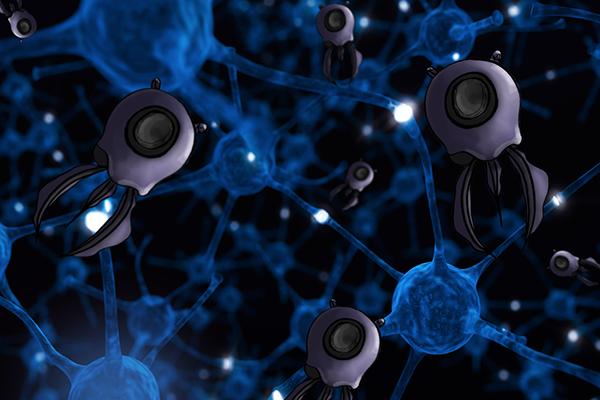Nano diagnostic bots concept