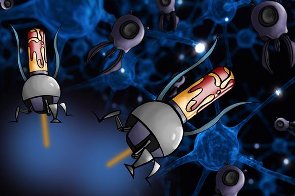 Nano bots treatment concepts